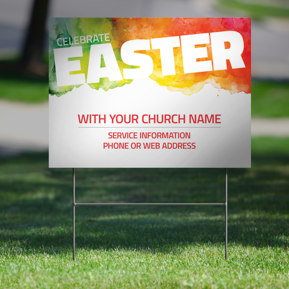 church yard signs