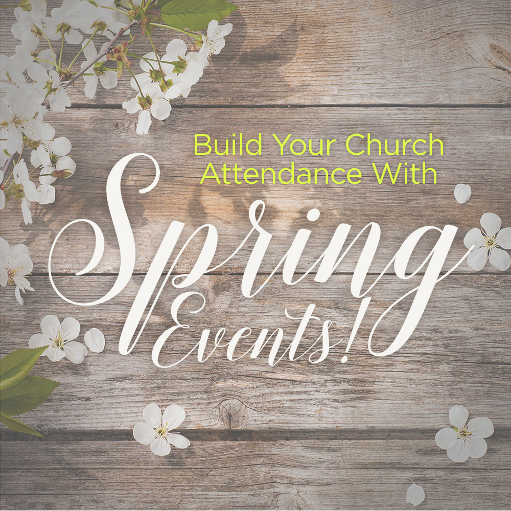 spring church event ideas