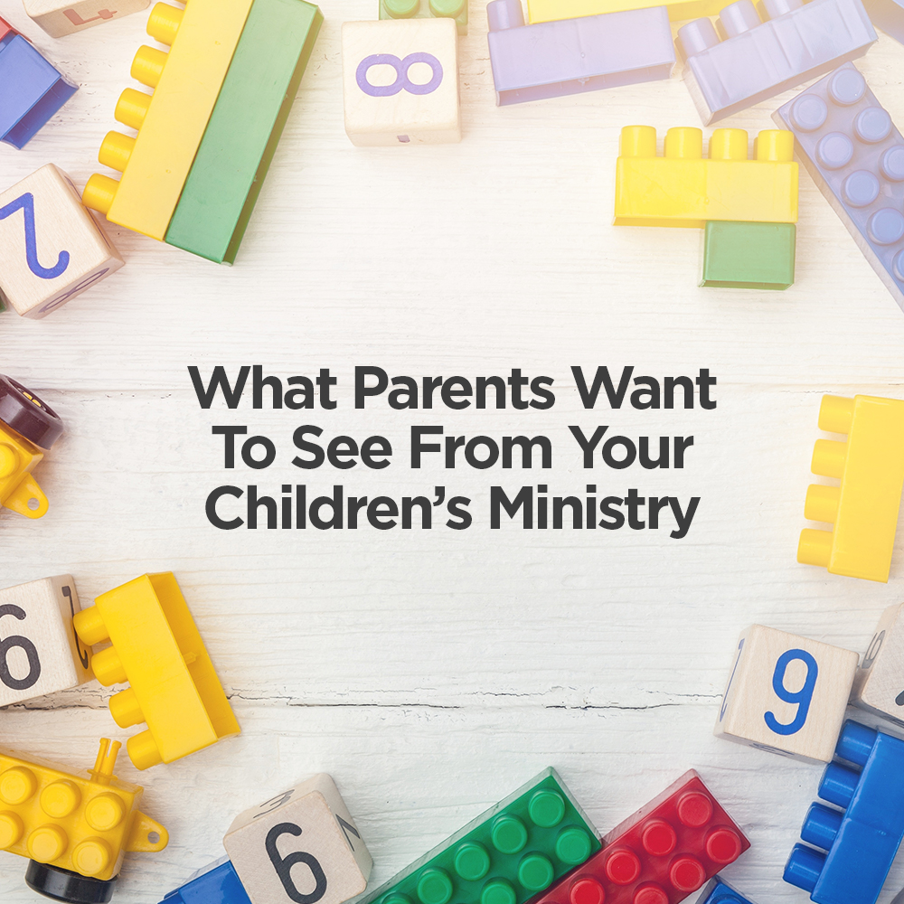 what parents want from children's ministry